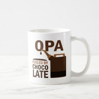 Opa Fueled By Chocolate Coffee Mug