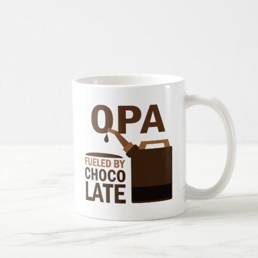 Opa Fueled By Chocolate Mug