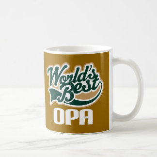 Opa Grandpa Father's Day Gift (World's Best) Coffee Mug