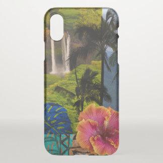 Opaeka'a Falls, Kauai Hawaiian Collage iPhone X Case