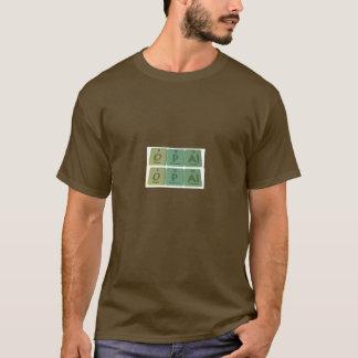 Opal as Oxygen Phosphorus Aluminium T-Shirt