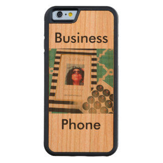Opal Ellyse Business Phone Carved Cherry iPhone 6 Bumper Case