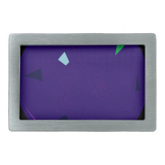 OPAL PURPLE ORIGINAL DESIGN RECTANGULAR BELT BUCKLE