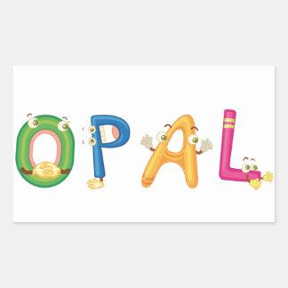 Opal Sticker