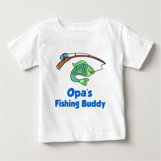 Opa's Fishing Buddy Baby T-Shirt