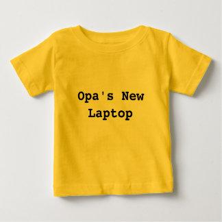 Opa's NewLaptop Baby T-Shirt