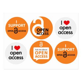 Open Access Postcard