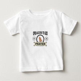 open access prayer baby T-Shirt