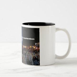 open air film festival amsterdam (Donators Mug) Two-Tone Mug