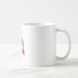 open barber shop art coffee mug