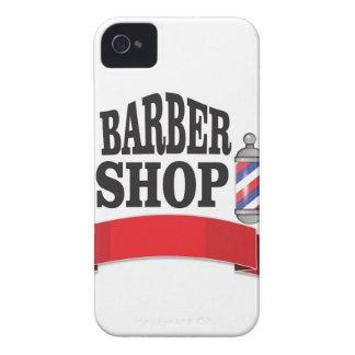 open barber shop art iPhone 4 Case-Mate case