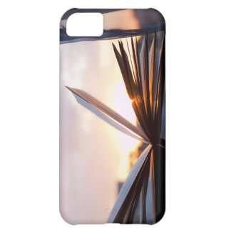 Open Book and Sunset Photograph iPhone 5C Cover