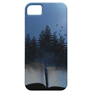 Open Book Forest iPhone 5 Case