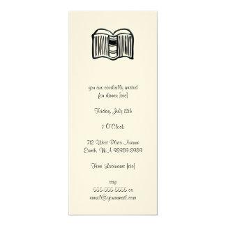 Open Book Custom Invitations
