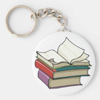 Open Book Keychain