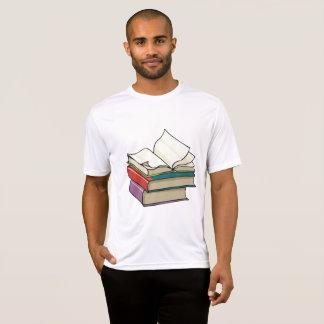 Open Book Mens Active Tee