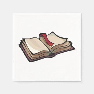 Open Book Paper Napkins