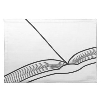 Open Book Placemat
