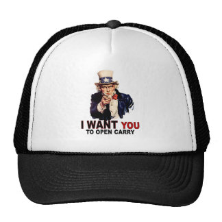 Open Carry Cap