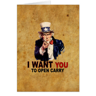 Open Carry Card