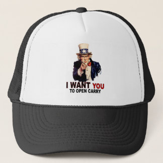 Open Carry Trucker Hat