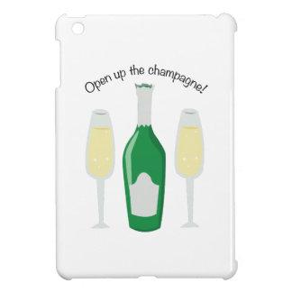 Open Champagne iPad Mini Cases