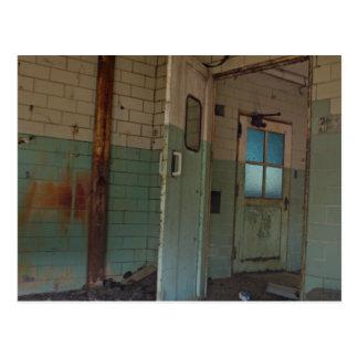 Open Doorway Postcard