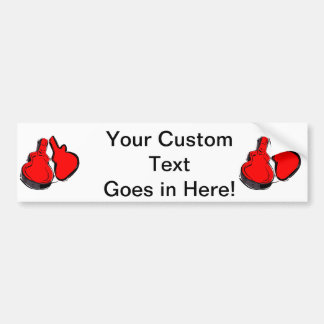 open empty guitar case red.png bumper sticker