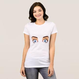 Open eyes / closed eyes t-shirt