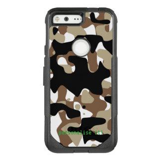 Open-field snow camouflage OtterBox commuter google pixel case