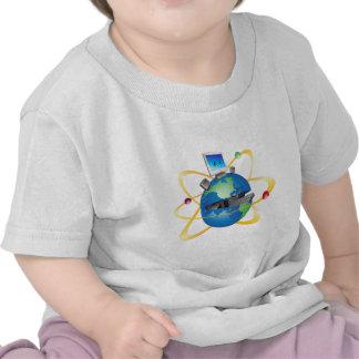 Open Globe Tee Shirt