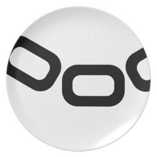 Open Handcuffs Plate