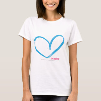 Open Heart Aqua T-Shirt