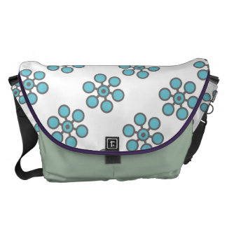 Open Heart (Floral) Courier Bags