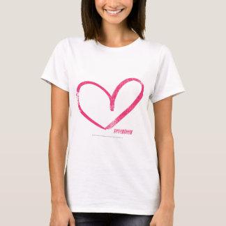 Open Heart Magenta T-Shirt