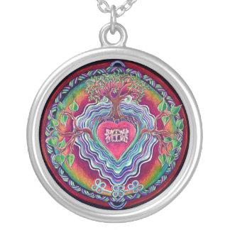 Open  Heart Window Mandala Necklace