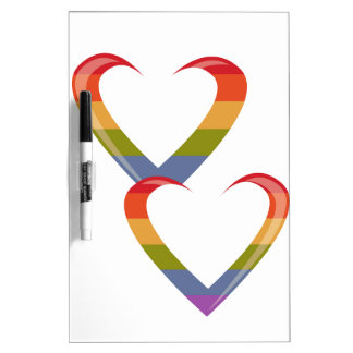 Open Hearts Dry Erase Whiteboards