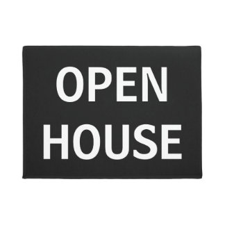 OPEN HOUSE DOORMAT