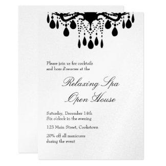 Open House Silver Grand Ballroom 13 Cm X 18 Cm Invitation Card