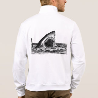 OPEN JAWS Great White Shark Jogger Jacket