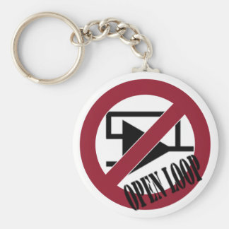 Open Loop Key Ring
