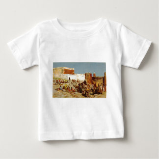 Open Market, Morocco by Edwin Lord Weeks Baby T-Shirt