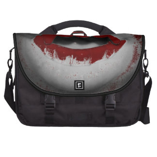 Open Mouth Bloody Vampire Fangs Bags For Laptop