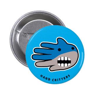 Open Mouth Shark Pins