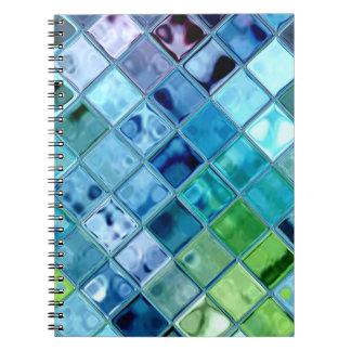 Open Ocean Fresh Vibrant original design Spiral Notebook