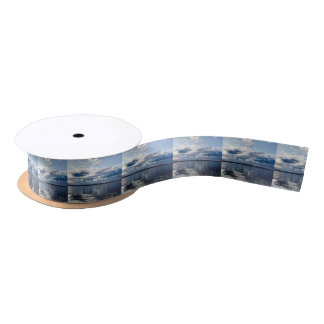 Open Ocean Satin Ribbon