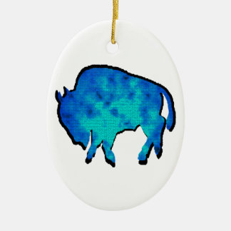 Open Range Ceramic Ornament