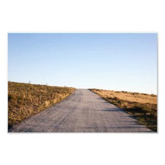 Open Road Landscape Photo Print
