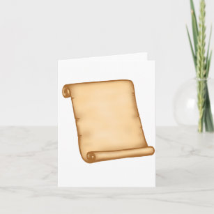 Open Scroll Note Cards