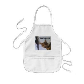 Open sesame! kids' apron